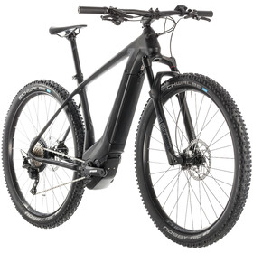 Cube Elite Hybrid C:62 Race 500 E-mountainbike sort